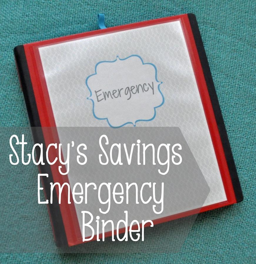 emergency binder