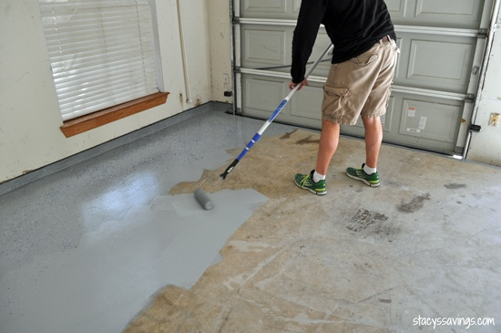 4 Ways To Clean A Garage Floor WikiHow Source · Garage Floor After That S  It We Just Let It Dry For 24 Hours Before Walking