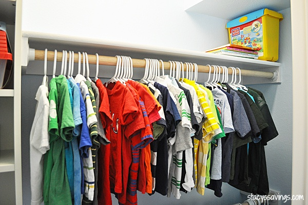 Kids Custom Closet IKEA Billy Hack