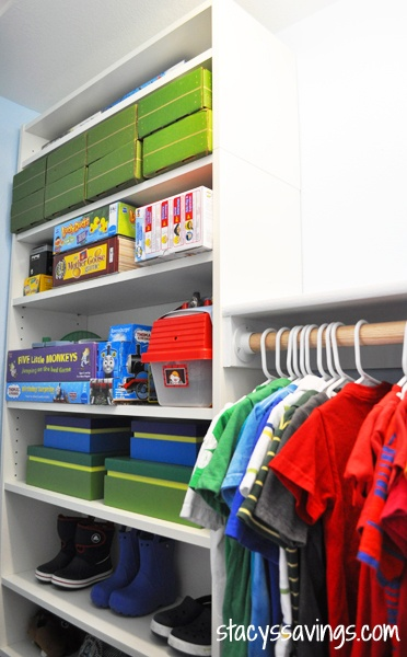Kid's Custom Closet IKEA Billy Hack