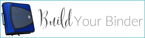 Build Your Binder