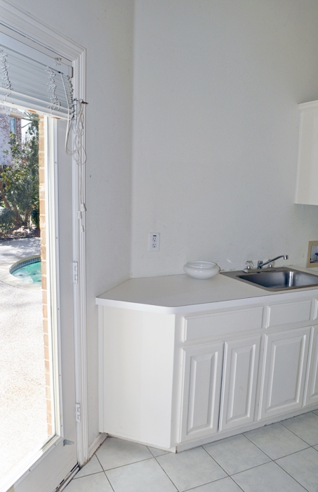 Images of our Laundry Room Before our Phase 1 Makeover.