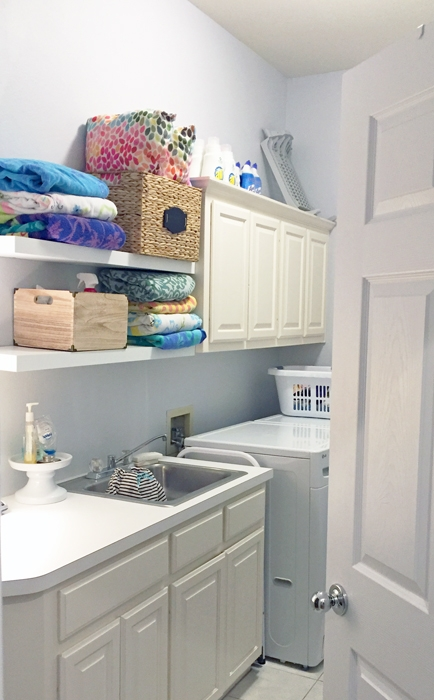 Images from our Laundry Room Phase 1 Makeover