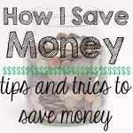 How I Save Money Series