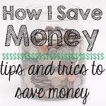 How I Save Money Series