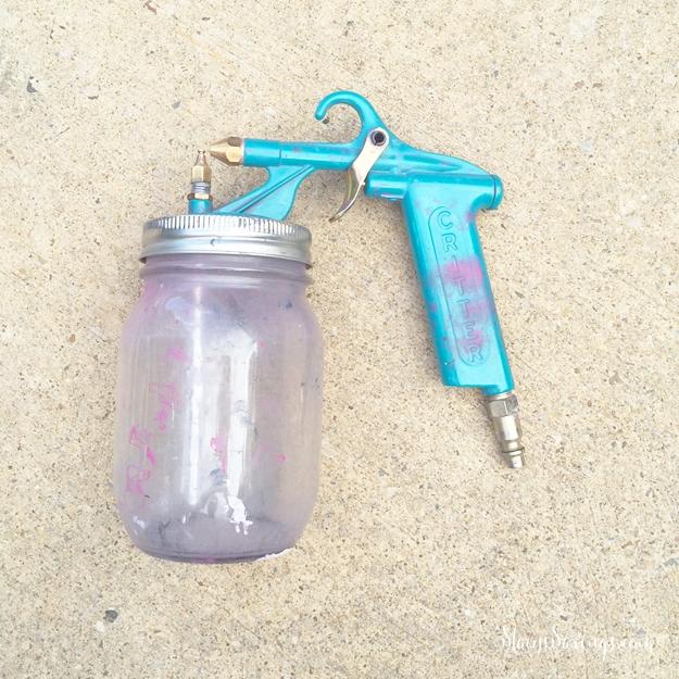 Critter Paint Spray Gun