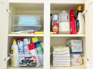 Konmari Cleaning Supplies