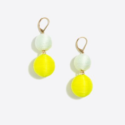 j crew factory lantern dangle earrings