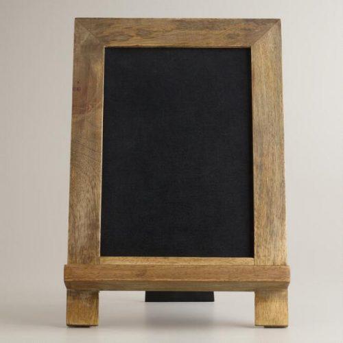mini owen easel chalkboard