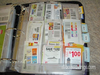 Coupon Binder Pages