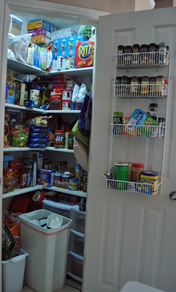 See how I remodeled my pantry to fit my stockpile!  It's my pretty couponer's pantry!