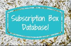 Subscription Box Database