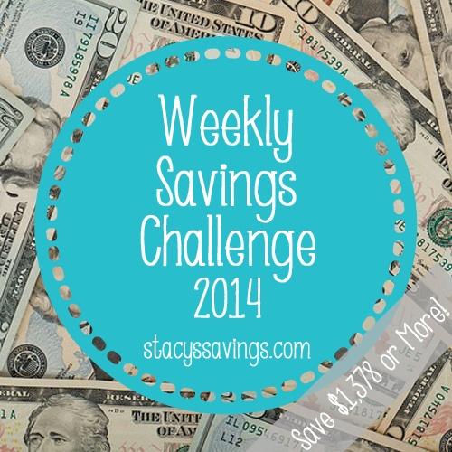 weekly savings challenge