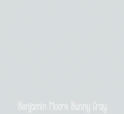 benjamin moore bunny gray