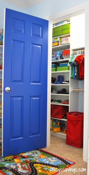 Kid's Custom Closet IKEA Billy Hack