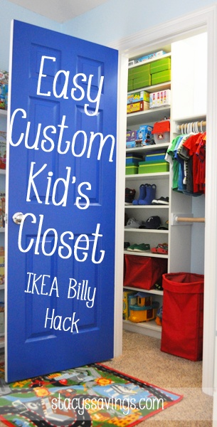 Kids Custom Closet How To