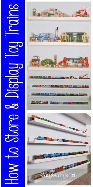 Toy Train Display Pin