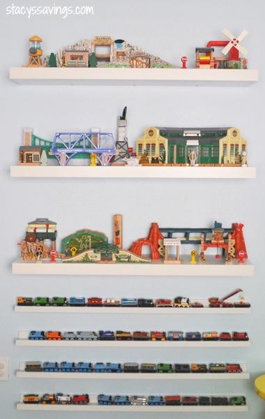 Toy Train Storage