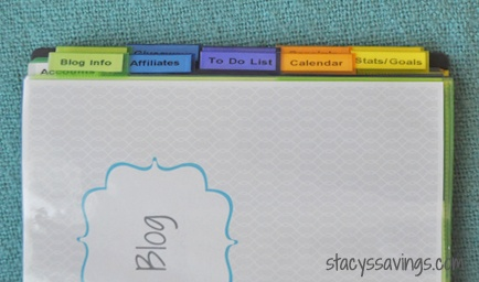 getting organized blog small business binder free printables