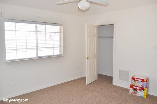 boy bedroom before
