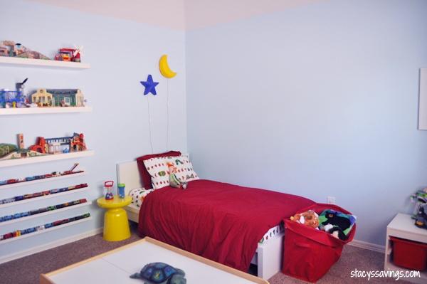 boy room after