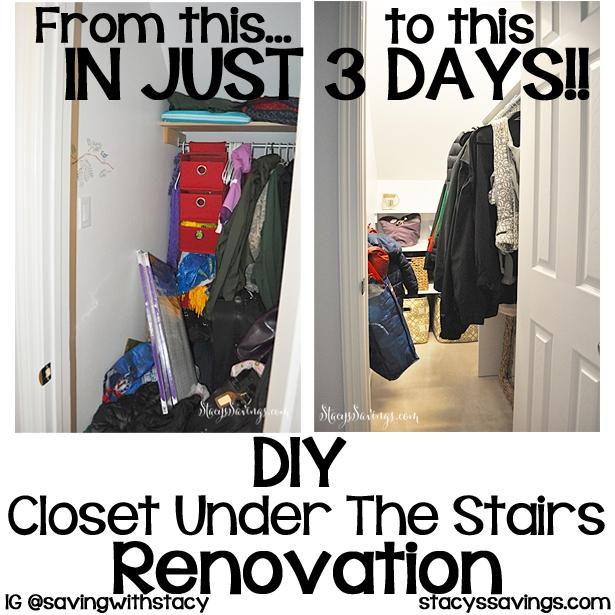 DIY Custom Coat Closet