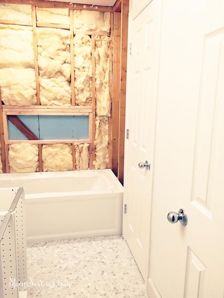 bathroom progress