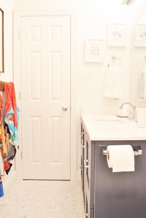 DIY Jack & Jill Bathroom Remodel IKEA Hack