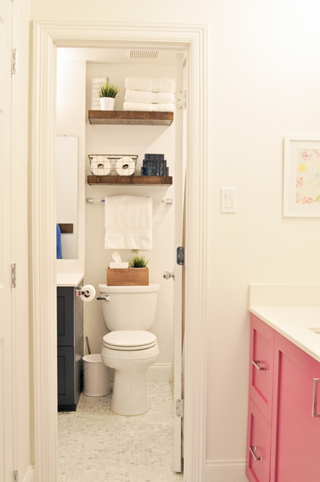 DIY Jack & Jill Bathroom Remodel IKEA Hack