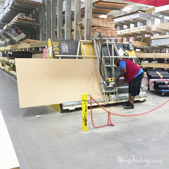 DIY Built In Shelves