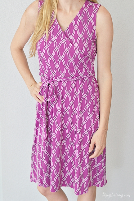 41Hawthorn Faux Wrap Dress