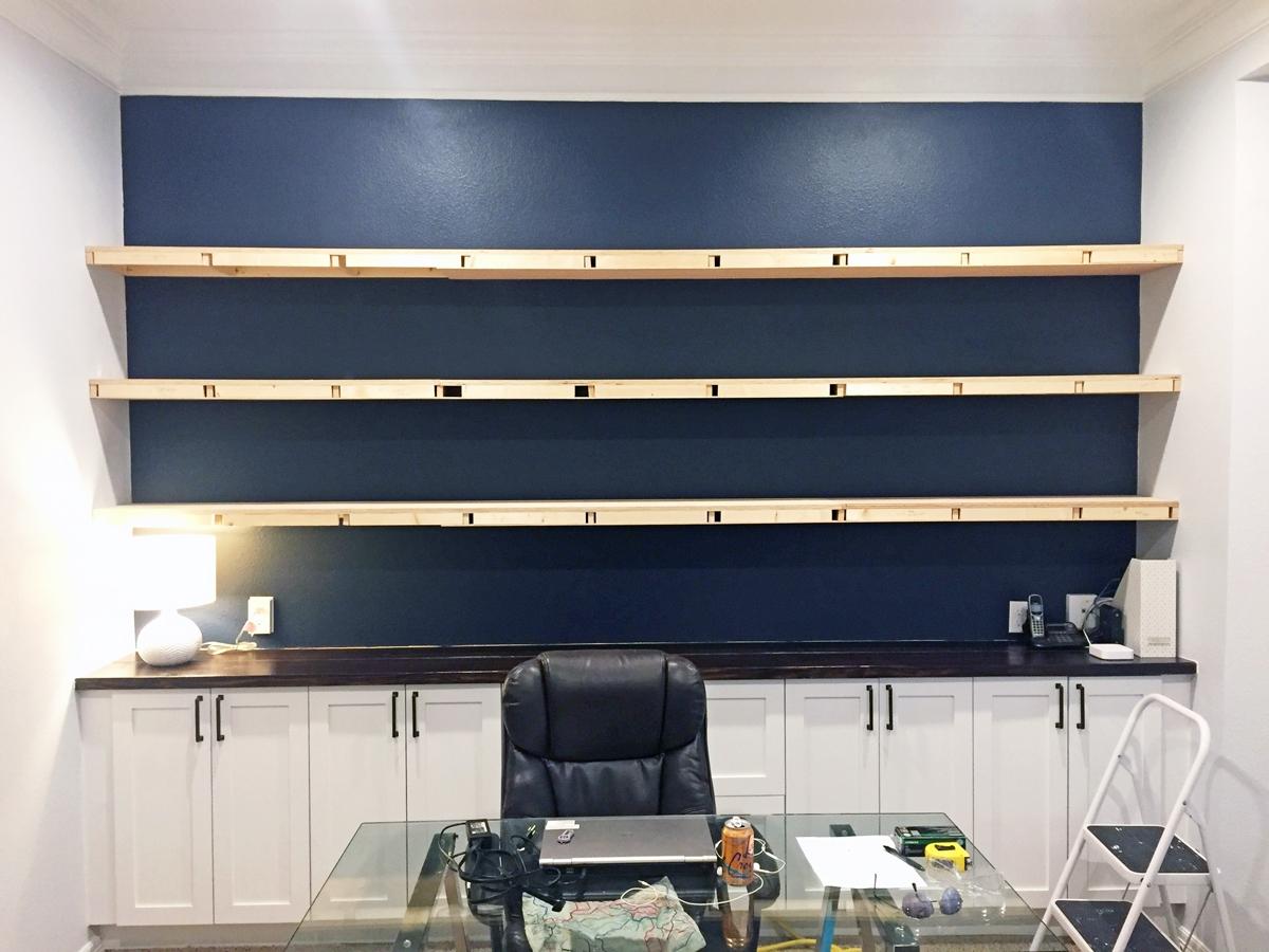 floating shelves construction2