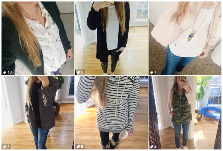 Check out all of the outfits that I wore for my Closet Challenge from February 2018. I'm using an Instagram Closet Challenge to break out of my fashion rut. Join Me!
