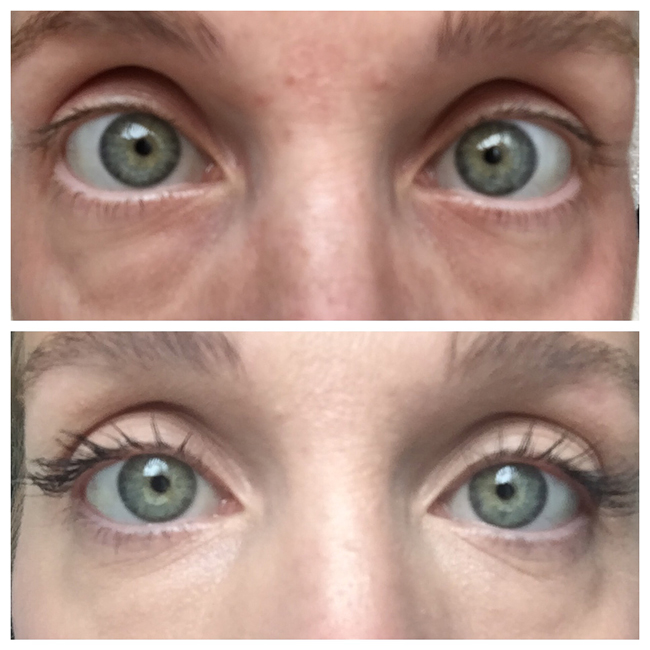 7 weeks of using Rodan + Fields Lash Boost. I've received tons of compliments on my lashes!