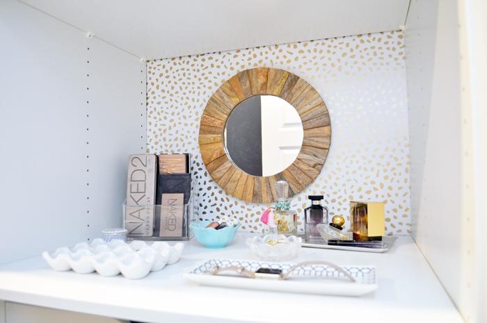 Easy DIY IKEA Master Closet Vanity Project!