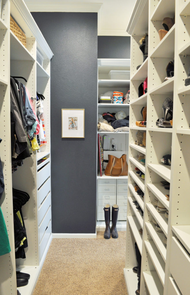 Master Closet Remodel. See how I totally transformed my master closet from builder-grade boring to a custom dream closet for less than $2,000!