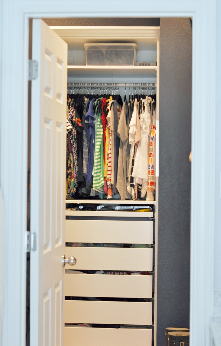 Master Closet Remodel See How I Totally Transformed My From Builder Grade