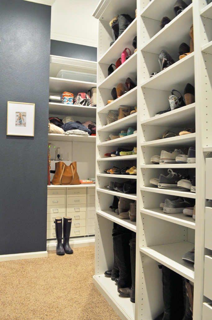 Master Closet Renovation. See how I totally transformed my master closet from builder-grade boring to a custom dream closet for less than $2,000!