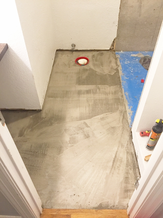 See our Guest Bathroom Remodel progress! We're building a disability-friendly guest bathroom.