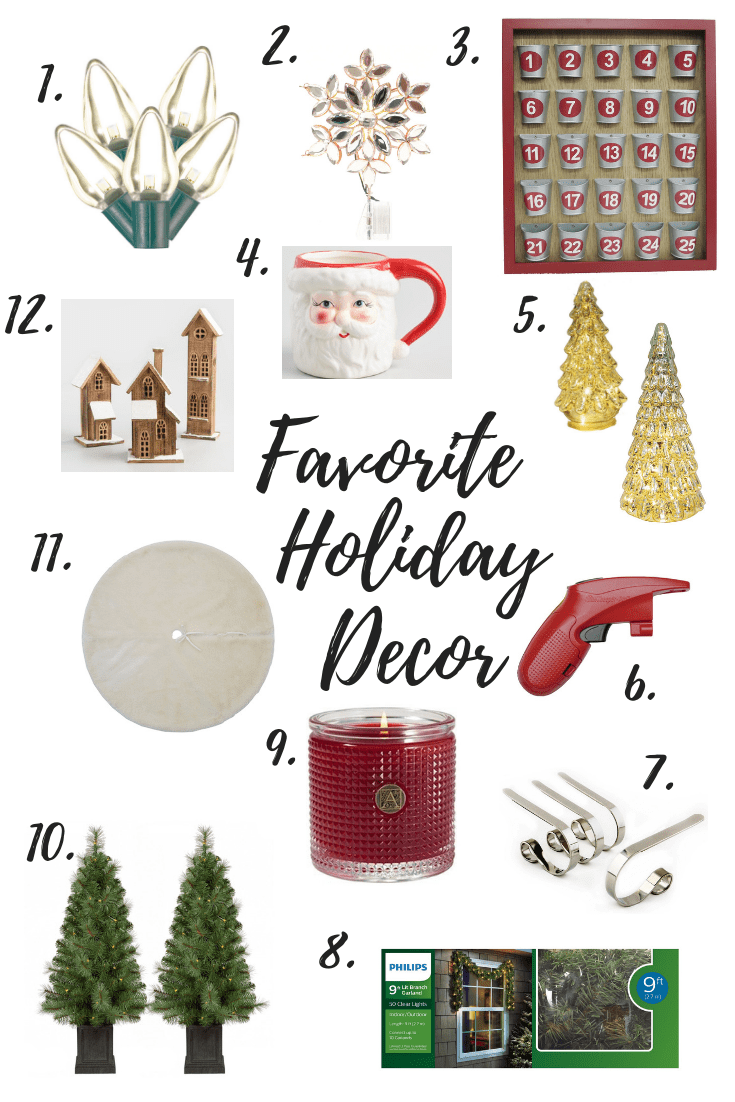 It's time to decorate for the holidays! See my favorite decor from tried and true pieces to new favorites on my wish list!
