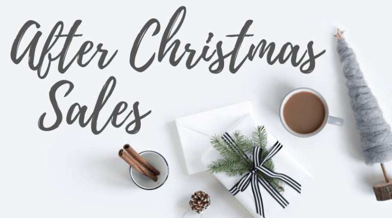 Get all of the deals and coupon codes for the After Christmas Sales at my favorite stores!