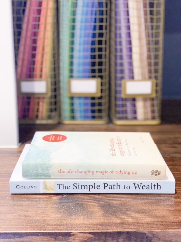 3 Books that will change your life.  Simplify your home and finances so you can live the life you want.