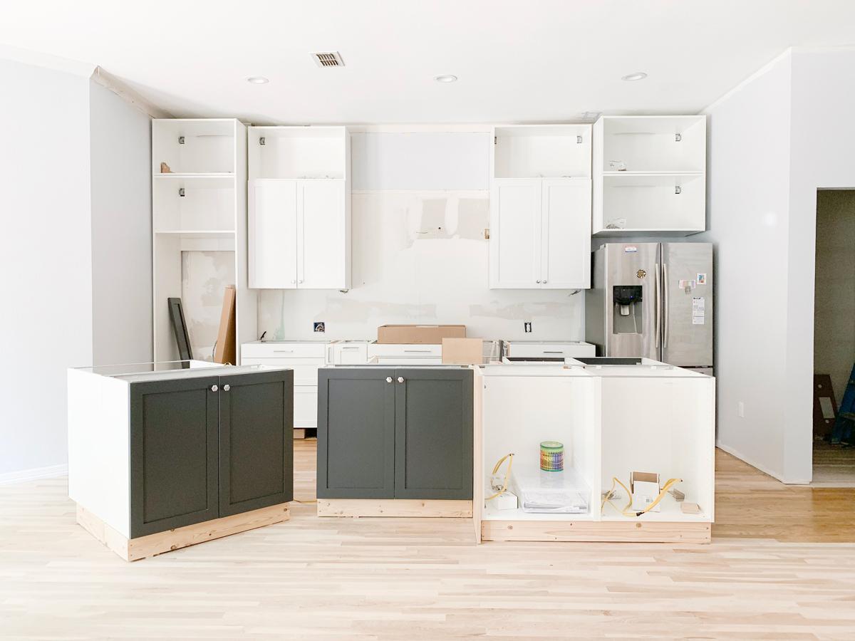 Kitchen & Laundry Room Remodel Progress: Week 13