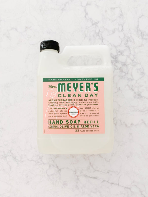 Find out what I got in my Grove Collaborate order in September 2019! Mrs. Meyer's Hand Soap Refill in the Geranium Scent