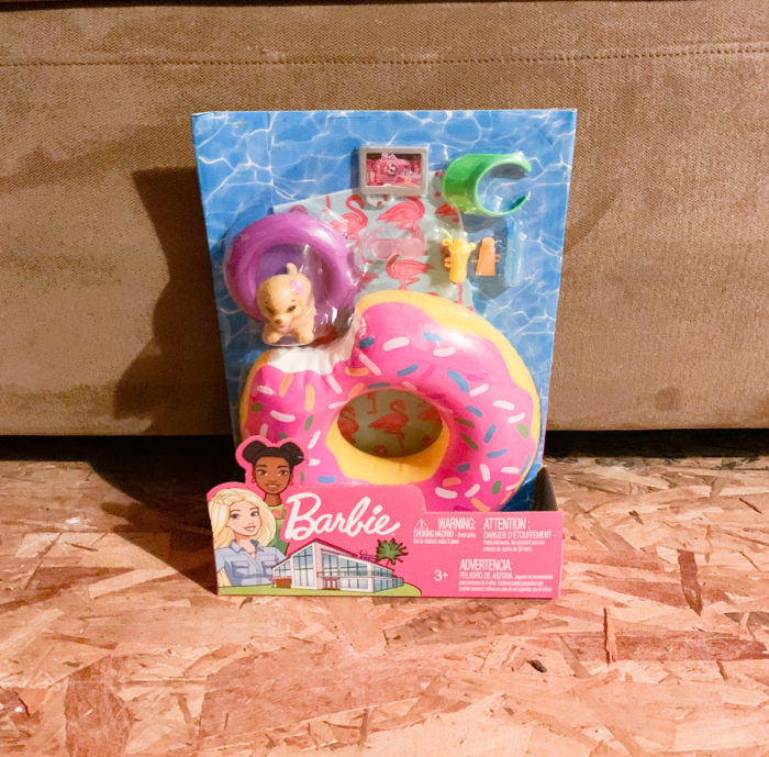 See what I ordered from Amazon in October including the Barbie Pool Float Accessories Pack!