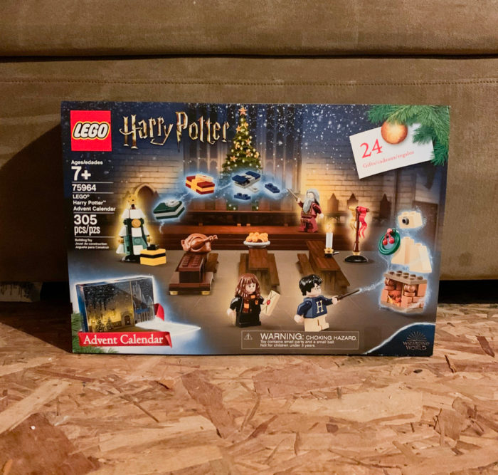See what I ordered from Amazon in October! This Harry Potter Lego Advent Calendar is so cool, I want to keep it for myself!