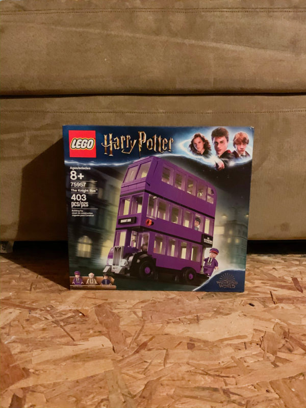 See what I ordered from Amazon in October including this Harry Potter Knight Bus Lego Set!