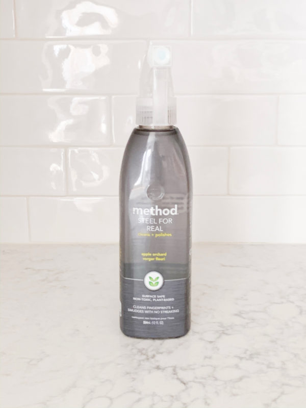 See what I ordered from Grove Collaborative in November 2019 including this Method Steel Cleaner!
