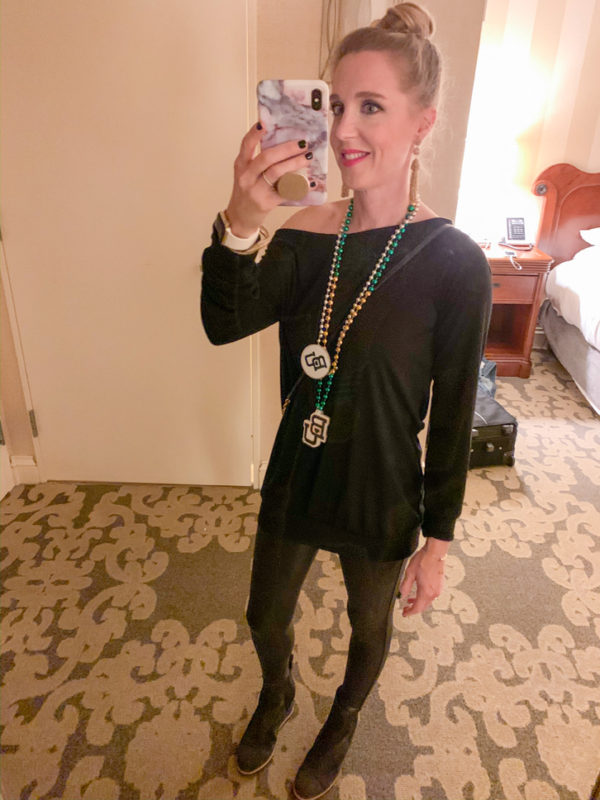 See what I ordered from Amazon in November & December 2019 including this black off shoulder tunic that comes in a ton of colors!