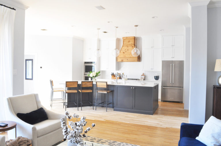 Ikea Kitchen Remodel Reveal! See the before and after photos of our DIY Custom IKEA Kitchen!